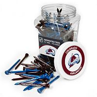 Team Golf Colorado Avalanche 175 ctGolf Tee Jar