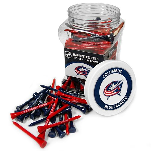 Team Golf Columbus Blue Jackets 175-ct. Golf Tee Jar