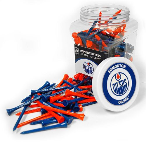 Team Golf Edmonton Oilers 175-ct. Golf Tee Jar