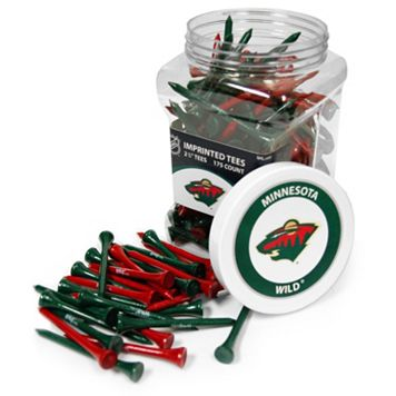 Team Golf Minnesota Wild 175-ct. Golf Tee Jar
