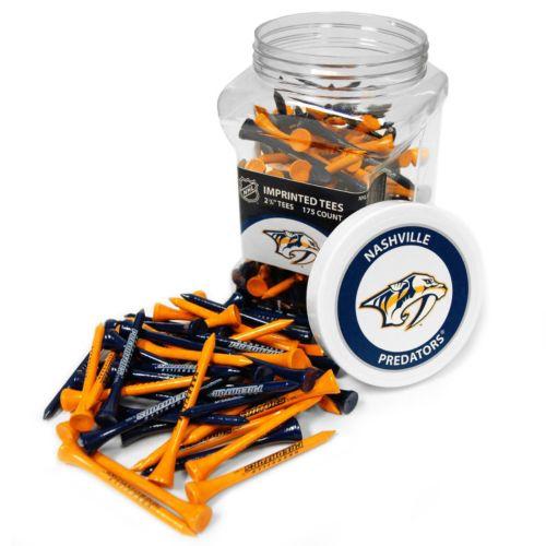 Team Golf Nashville Predators 175-ct. Golf Tee Jar
