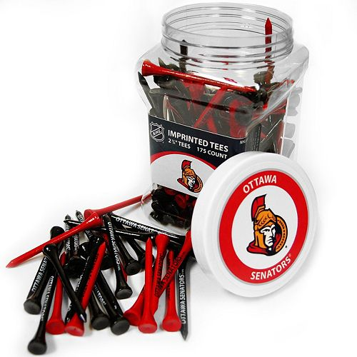 Team Golf Ottawa Senators 175-ct. Golf Tee Jar