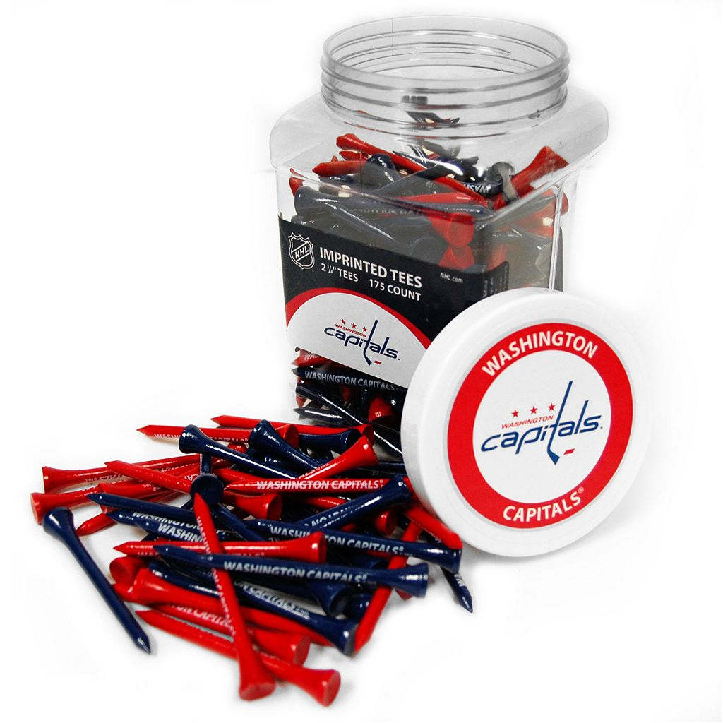 Team Golf Washington Capitals 175-ct. Golf Tee Jar