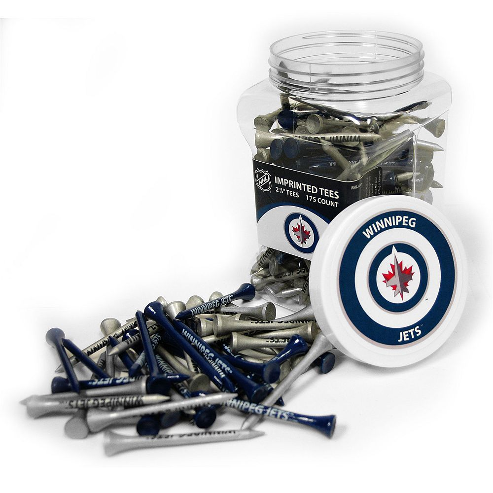 Team Golf Winnipeg Jets 175-ct. Golf Tee Jar