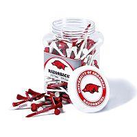 Team Golf Arkansas Razorbacks 175-ct. Golf Tee Jar