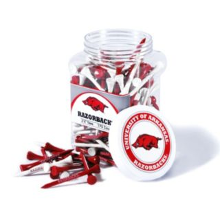 Team Golf Arkansas Razorbacks 175-ct. Golf Tee Jar