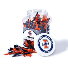 Team Golf Illinois Fighting Illini 175-ct. Golf Tee Jar