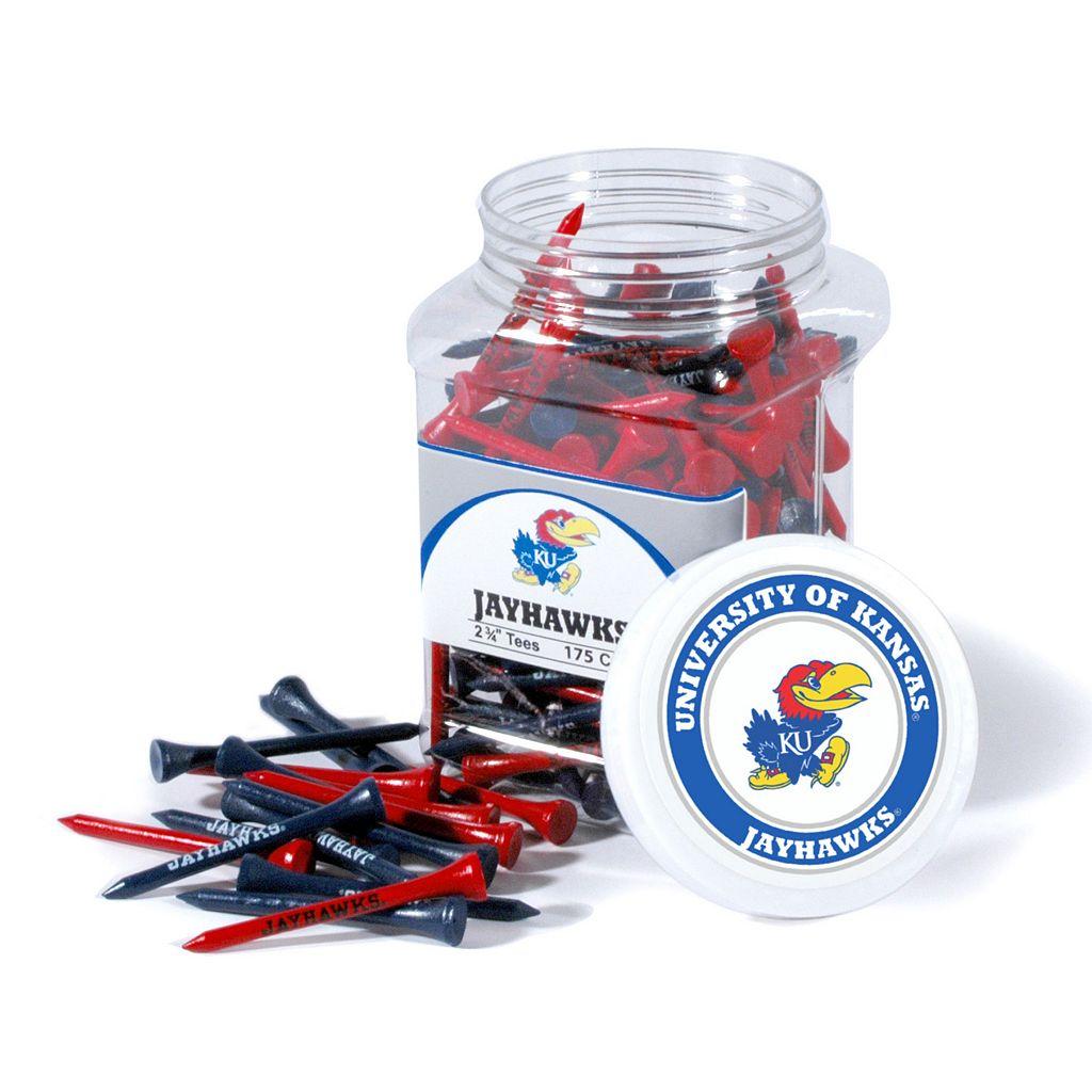 Team Golf Kansas Jayhawks 175-ct. Golf Tee Jar