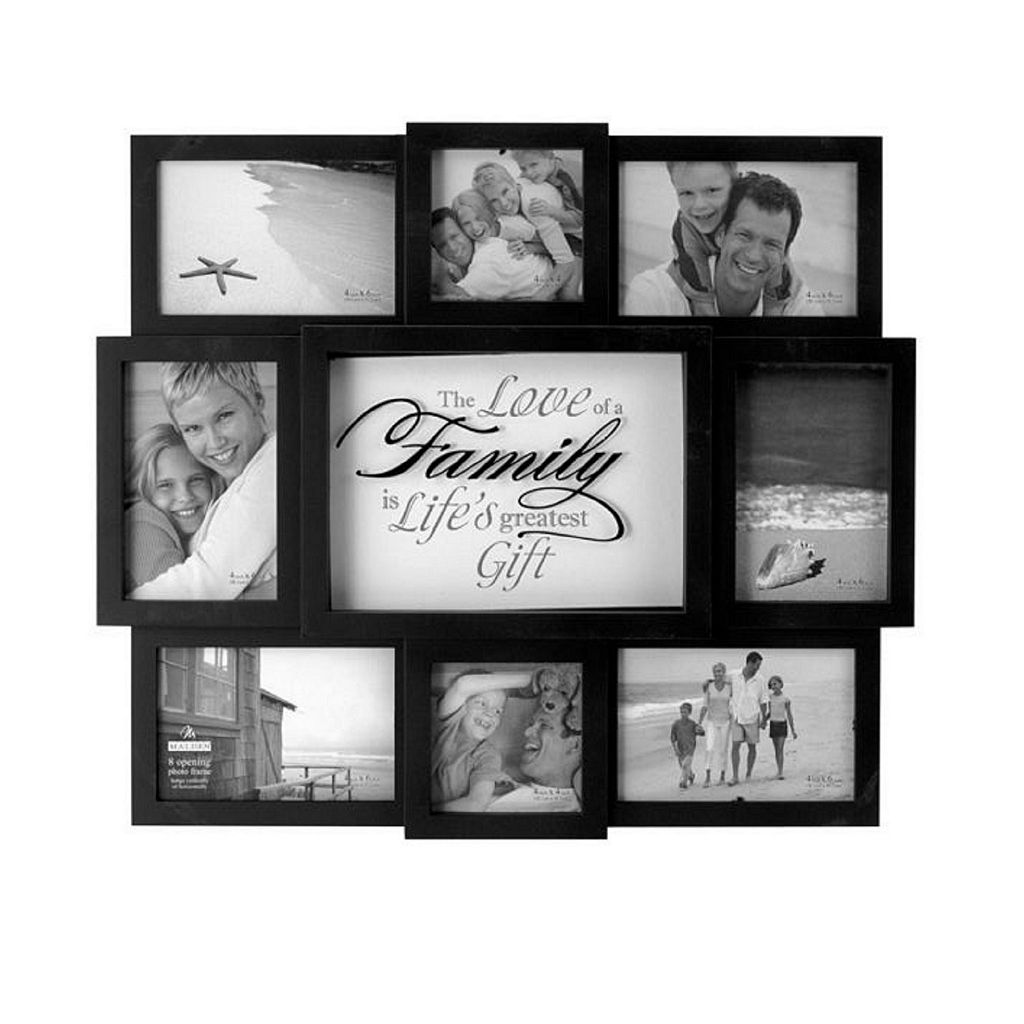 Malden ''The Love of a Family'' 8-Opening Collage Frame