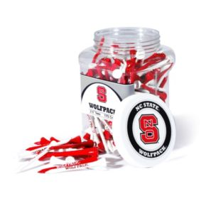 Team Golf North Carolina State Wolfpack 175-ct. Golf Tee Jar