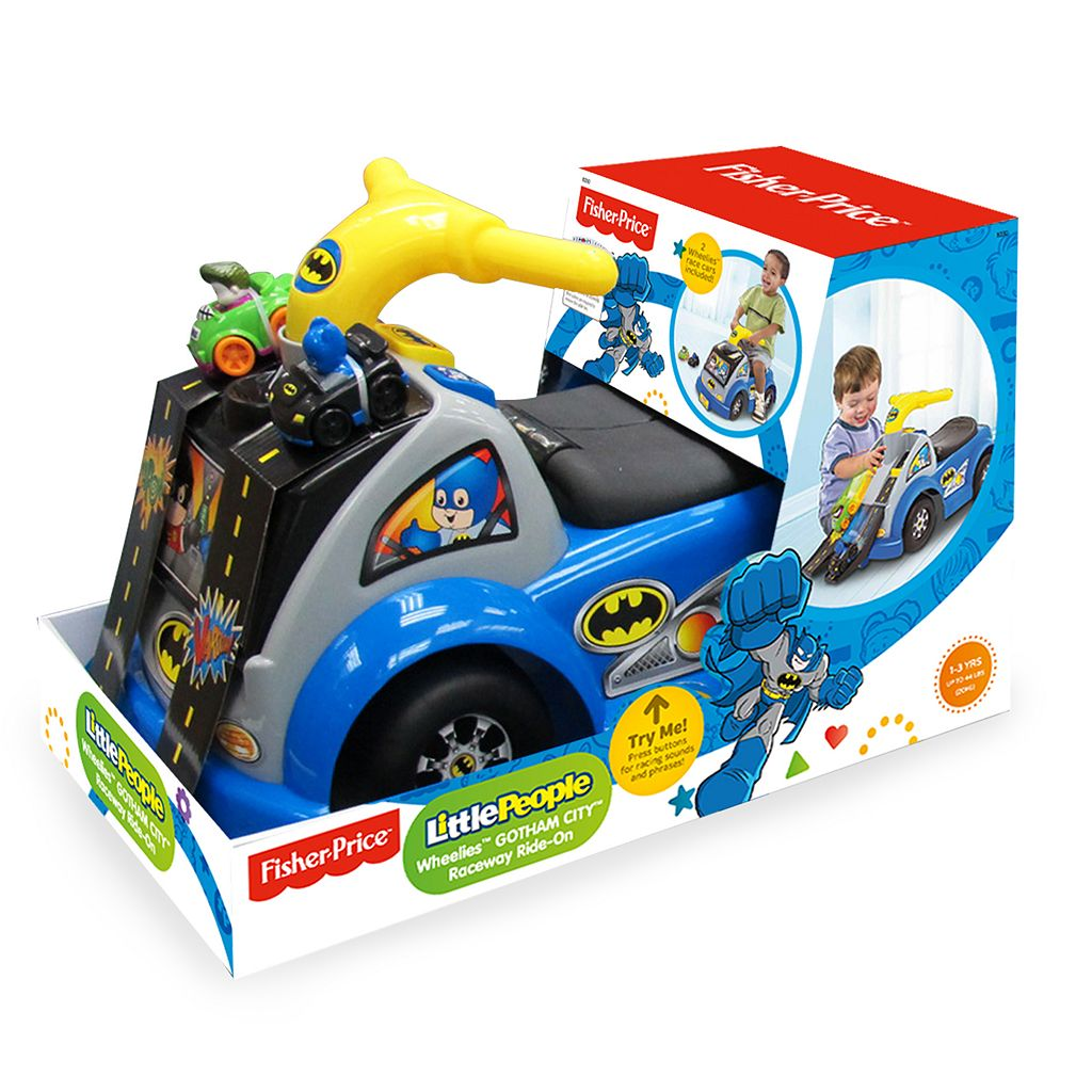 Fisher-Price DC Super Friends Batman Gotham Raceway Ride-On