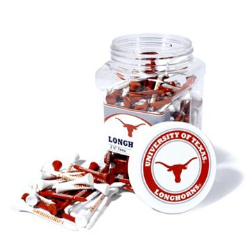 Team Golf Texas Longhorns 175-ct. Golf Tee Jar