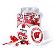 Team Golf Wisconsin Badgers 175-ct. Golf Tee Jar