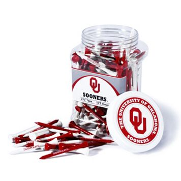 Team Golf Oklahoma Sooners 175-ct. Golf Tee Jar