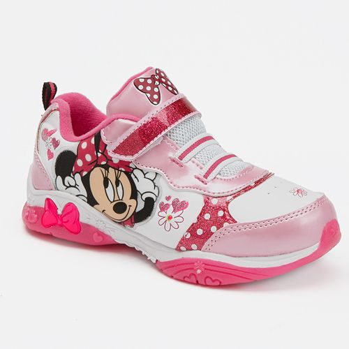 Minnie Mouse Light-Up Athletic Shoes - Toddler Girls d8776cfbdaf