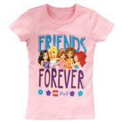 LEGO Friends Friends Forever Tee - Girls 4-6x