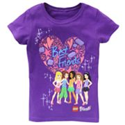 LEGO Friends Best Friends Tee - Girls 4-6x