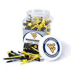 Team Golf West Virginia Mountaineers 175 ctGolf Tee Jar