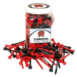 Team Golf Maryland Terrapins 175-ct. Golf Tee Jar