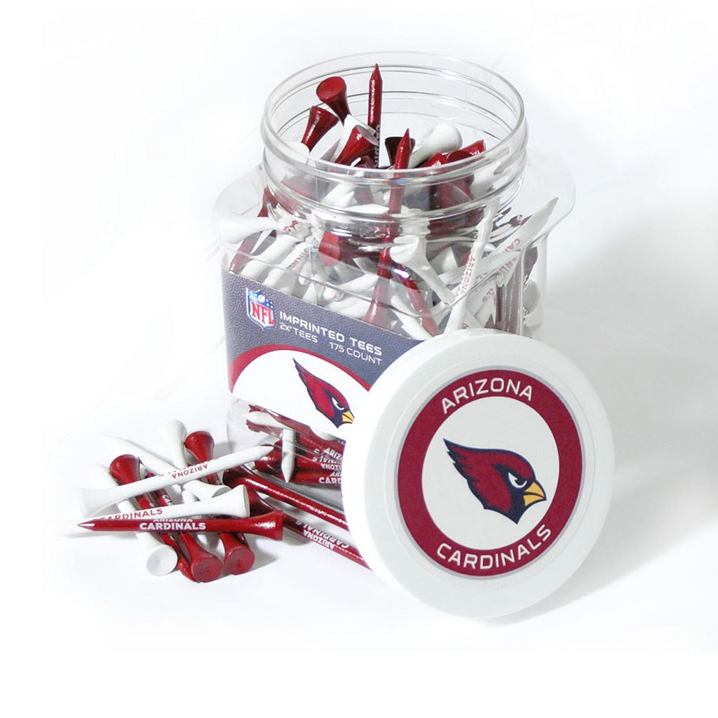 Team Golf Arizona Cardinals 175-ct. Golf Tee Jar