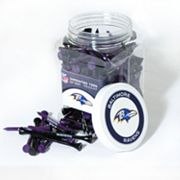 Team Golf Baltimore Ravens 175 ctGolf Tee Jar