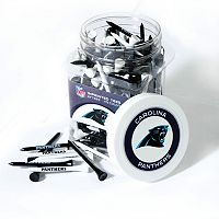 Team Golf Carolina Panthers 175 ctGolf Tee Jar