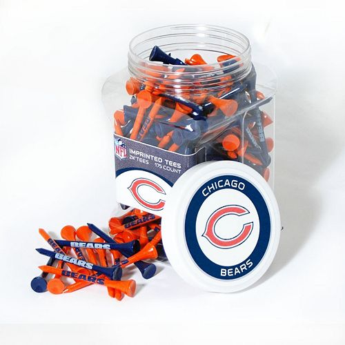 Team Golf Chicago Bears 175-ct. Golf Tee Jar