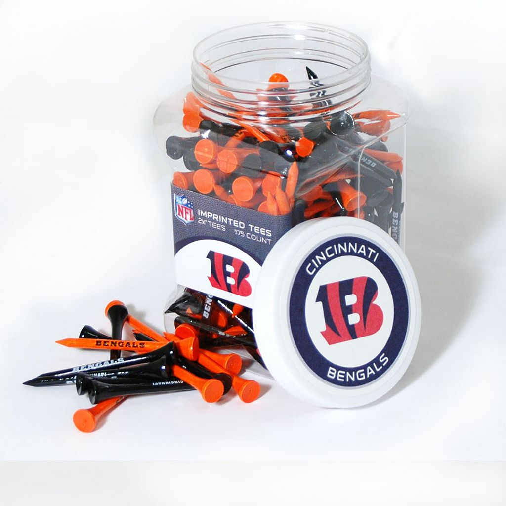 Team Golf Cincinnati Bengals 175-ct. Golf Tee Jar