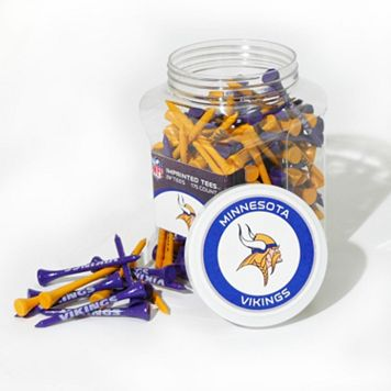Team Golf Minnesota Vikings 175-ct. Golf Tee Jar