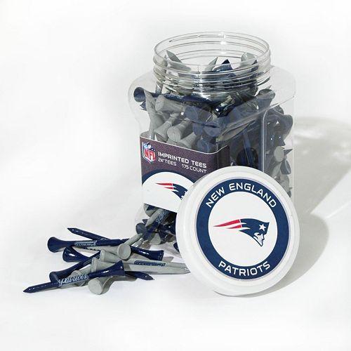Team Golf New England Patriots 175-ct. Golf Tee Jar