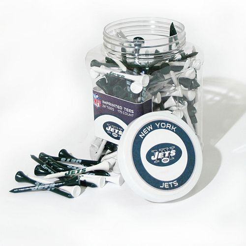 Team Golf New York Jets 175-ct. Golf Tee Jar