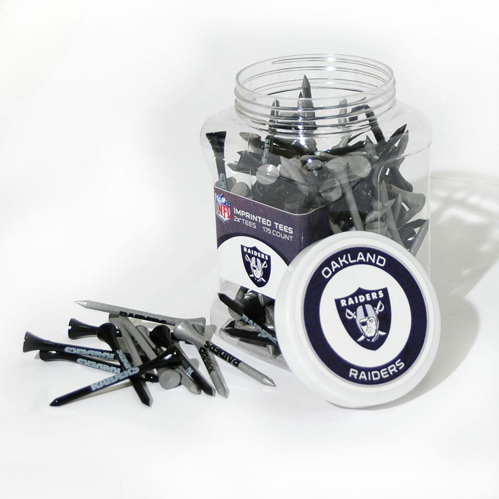 Team Golf Oakland Raiders 175-ct. Golf Tee Jar