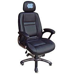 North Carolina Tar Heels Head Coach Leather Office Chair