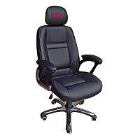 Ole Miss Rebels Head Coach Leather Office Chair