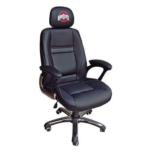 Ohio State Buckeyes Head Coach Leather Office Chair