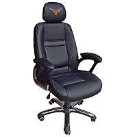 Texas Longhorns Head Coach Leather Office Chair