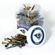 Team Golf St. Louis Rams 175-ct. Golf Tee Jar