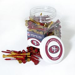 Team Golf San Francisco 49ers 175-ct. Golf Tee Jar