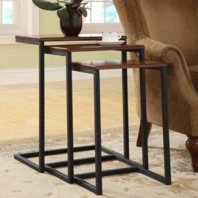 Carolina Cottage 3-pc. Addison Nesting Table Set