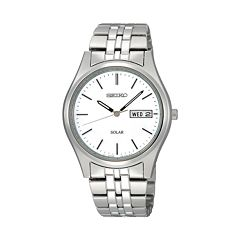 Seiko Men's Stainless Steel Solar Watch - SNE031