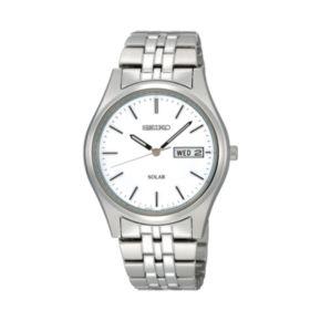 Seiko Men's Stainless Steel Solar Watch - SNE031