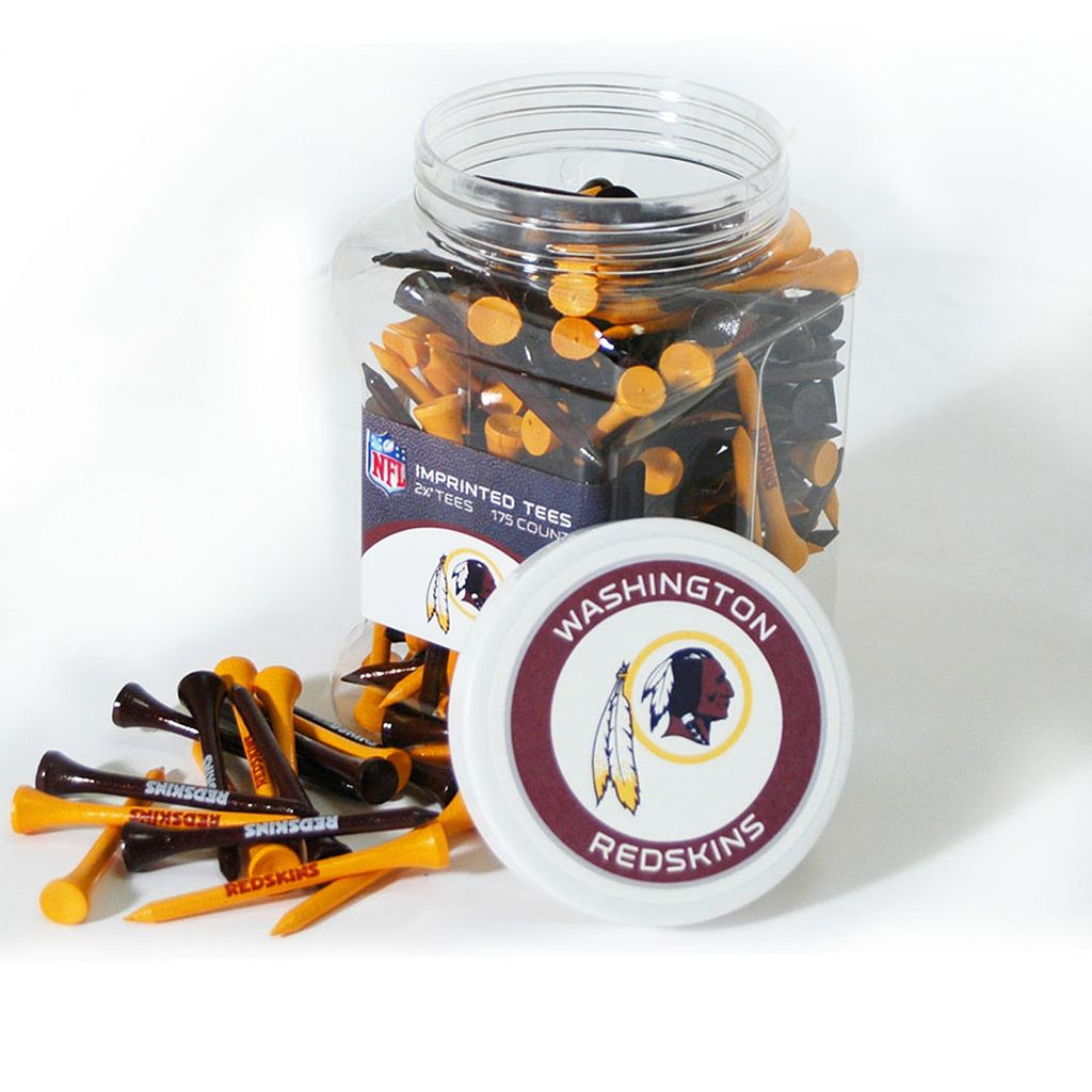 Team Golf Washington Redskins 175-ct. Golf Tee Jar