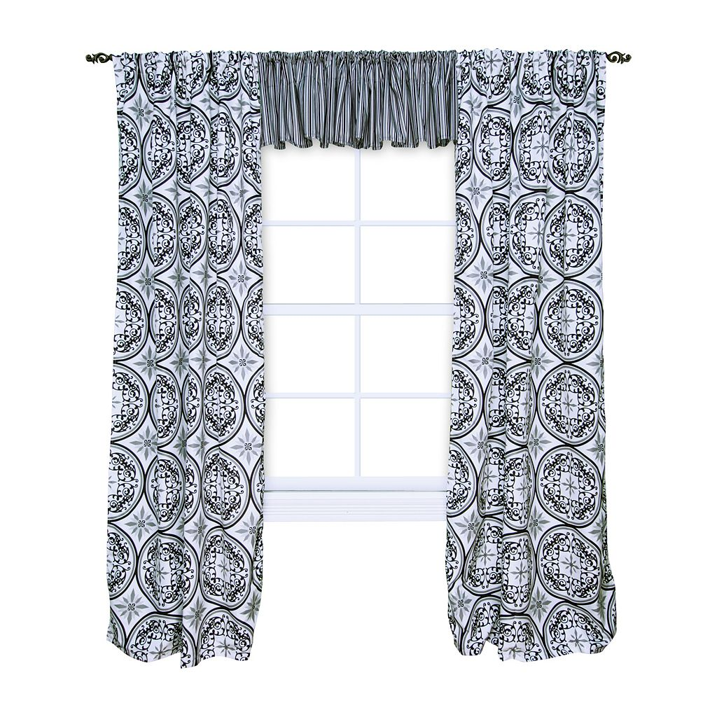 Trend Lab Medallions Window Drapes