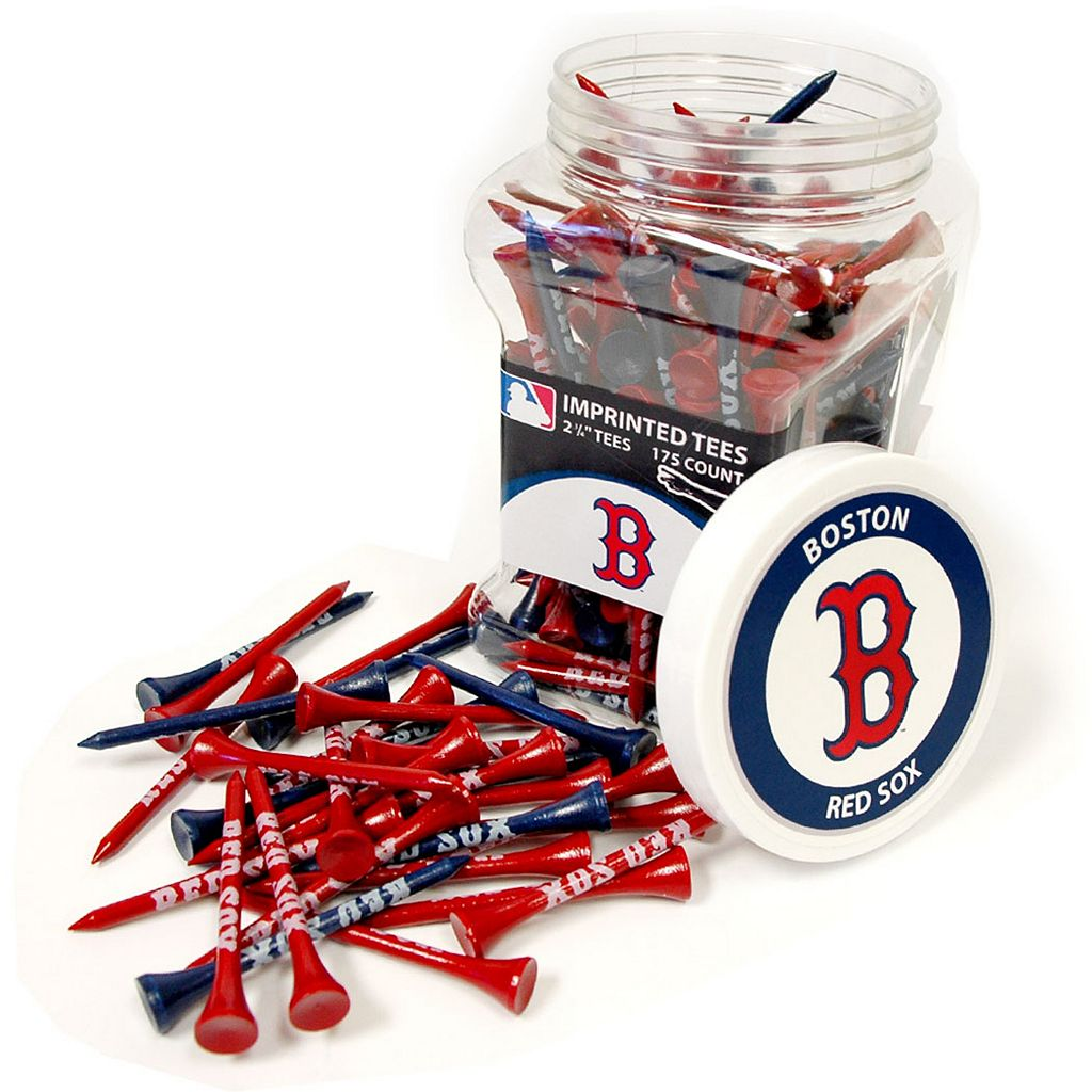 Team Golf Boston Red Sox 175-ct. Golf Tee Jar