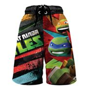 Teenage Mutant Ninja Turtles Swim Trunks - Boys 4-7