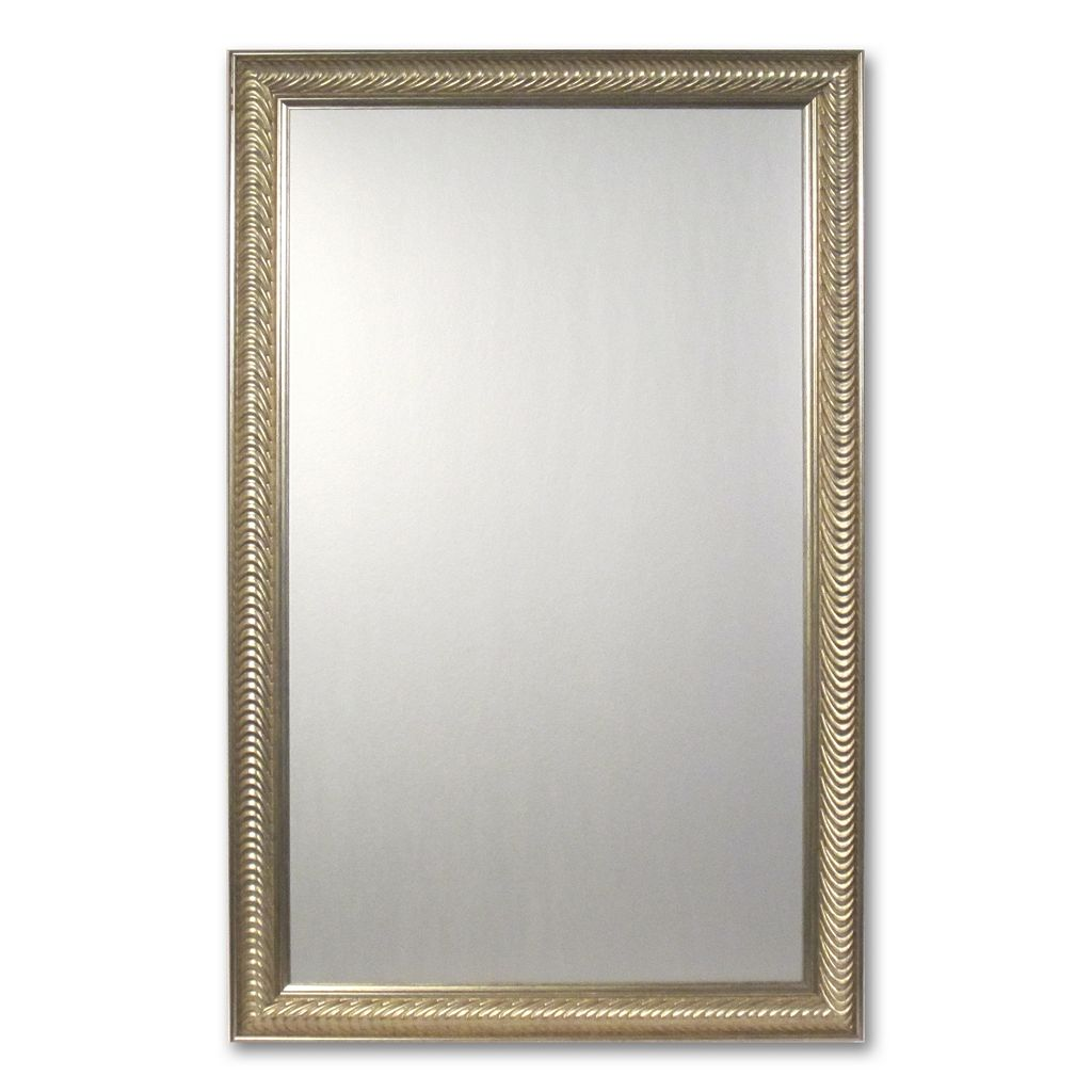 Alpine Wave Collection Wall Mirror