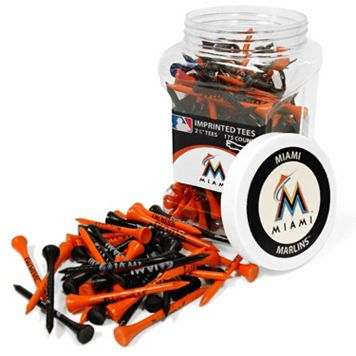 Team Golf Miami Marlins 175-ct. Golf Tee Jar