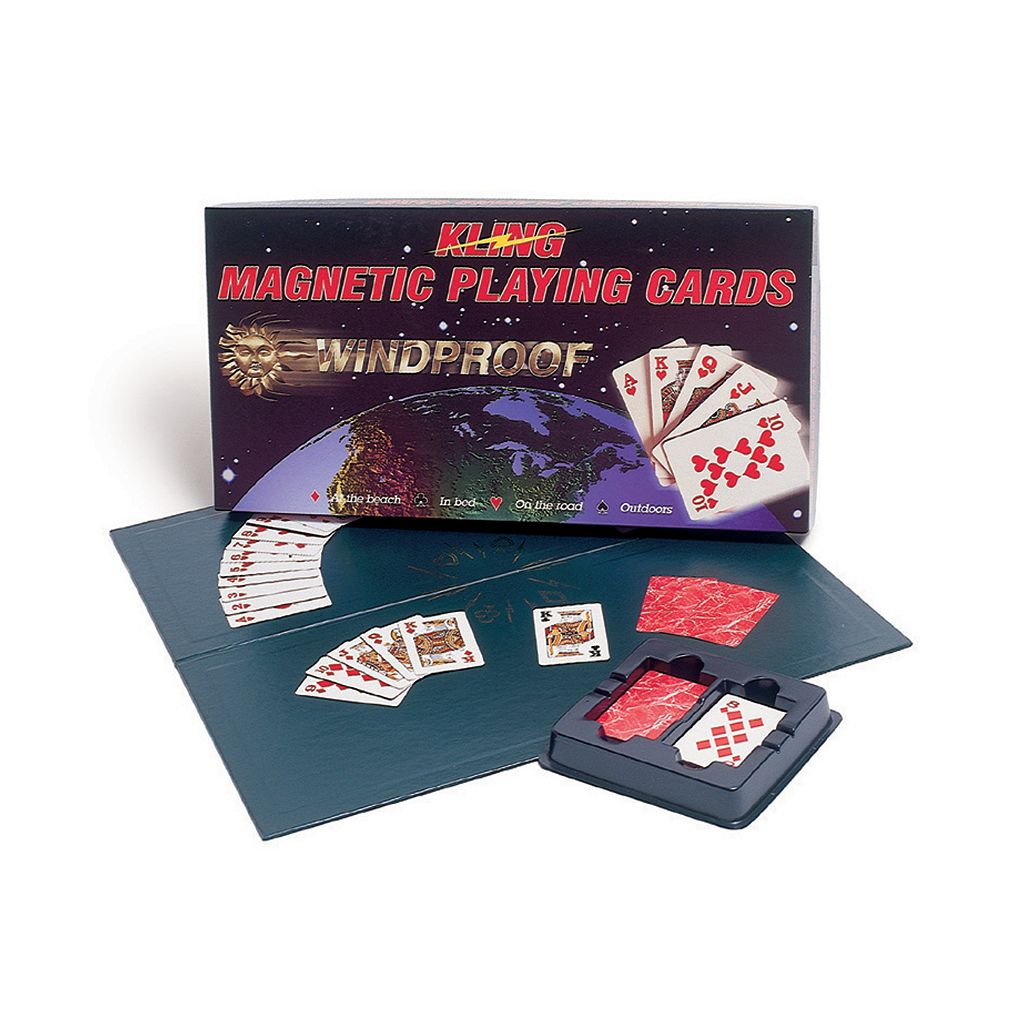 Kling Magnetic Playing Cards Complete Game Set