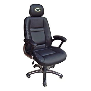 Green Bay Packers Head Coach Leather Office Chair