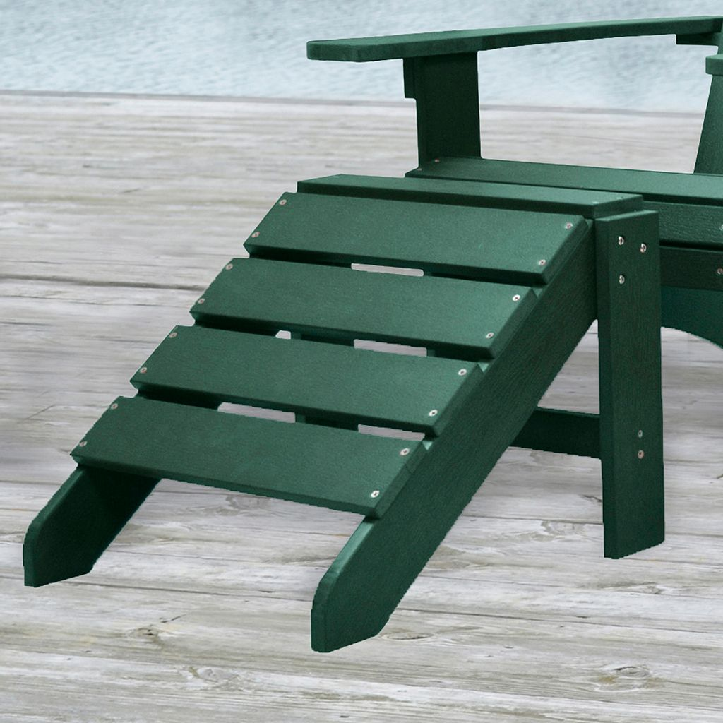 Carolina Outdoor Adirondack Patio Ottoman